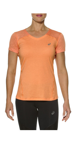 asics fuzeX V-Neck SS Top Women melon